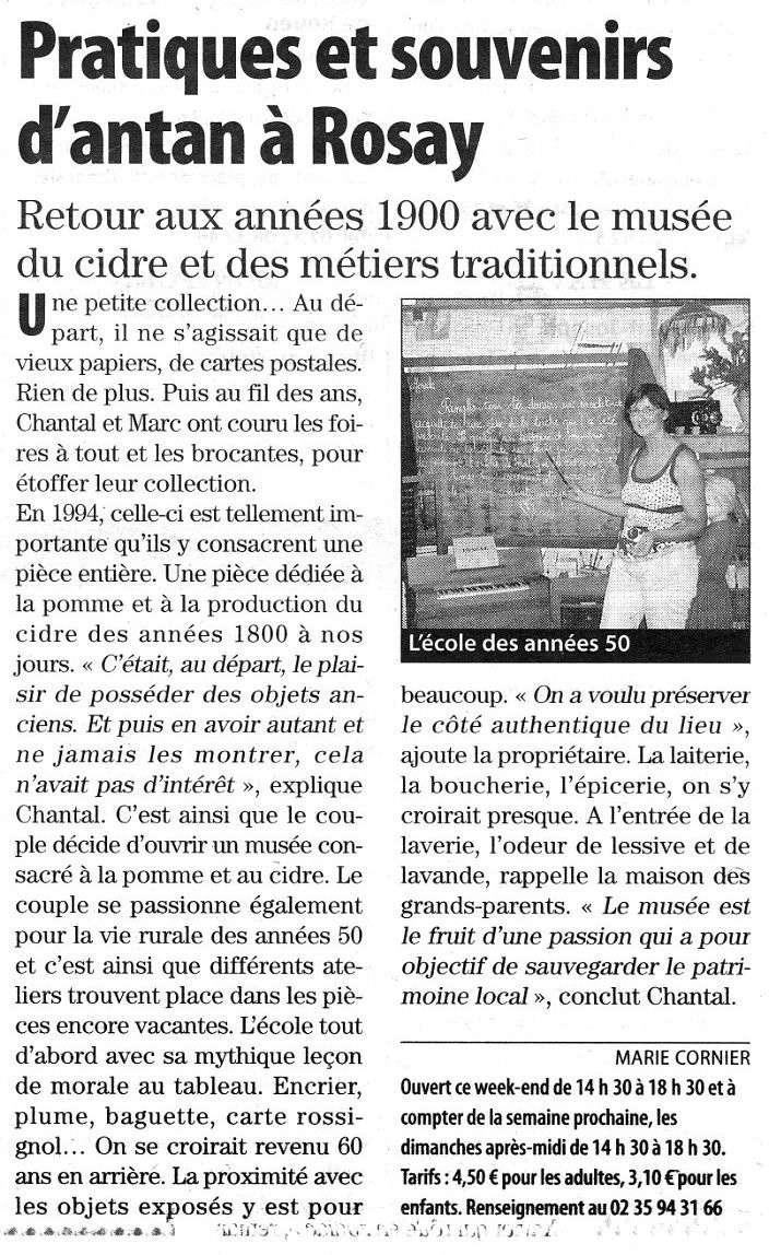 Rosay - Musée du cidre et des métiers traditionnels Rosay_10