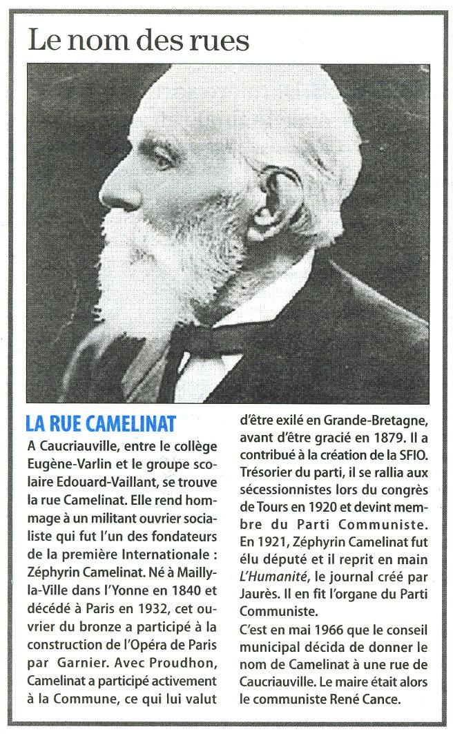 Le Havre - Rue Camelinat Rue_ca10