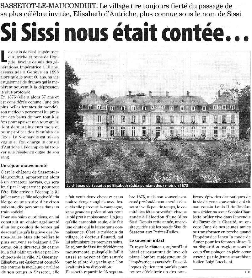 Sassetot-le-Mauconduit - Si Sissi nous était contée ... Sasset11