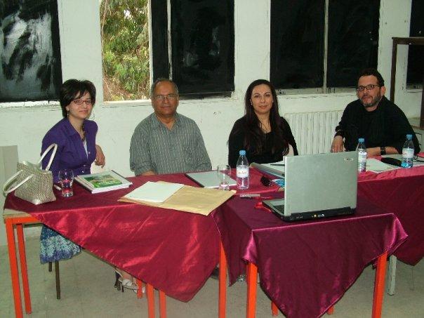 أساتذة المعهد العالي للفنون الجميلة بتونس N1309025