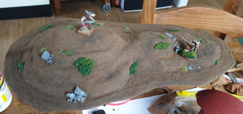 Building the Grand Barony of Hochland - Terrain log by Tag. Hill_210