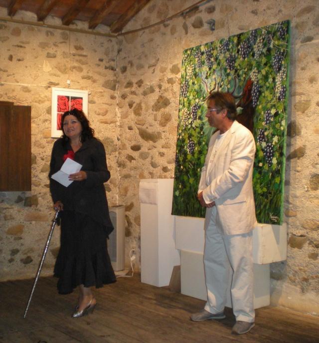 Exposition de Mona au Musée du Liège Dscn1022