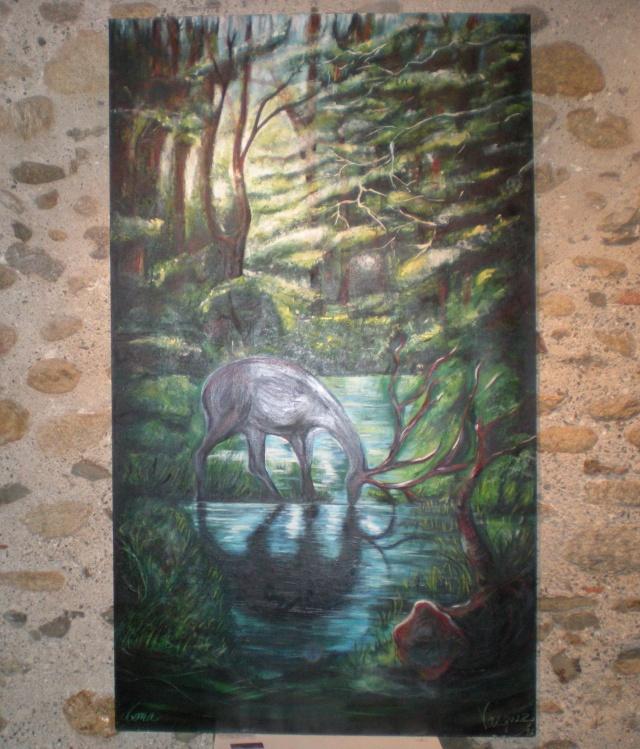Exposition de Mona au Musée du Liège Dscn1032