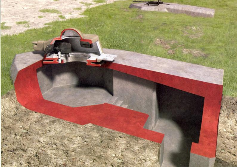 bunker en coupe Tob110
