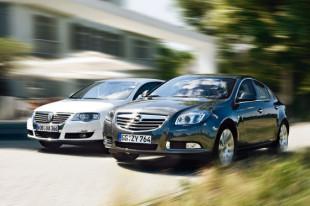 Vergleich Opel Insignia / VW Passat 20080810