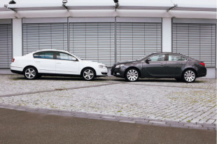 Vergleich Opel Insignia / VW Passat 20080812
