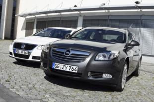 Vergleich Opel Insignia / VW Passat 20080824