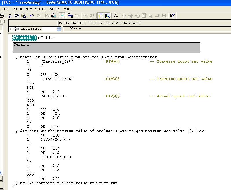 دورة تدريبية في الحاكمات المنطقية قابلة للبرمجة طراز Siemens S7 - صفحة 4 Trav410