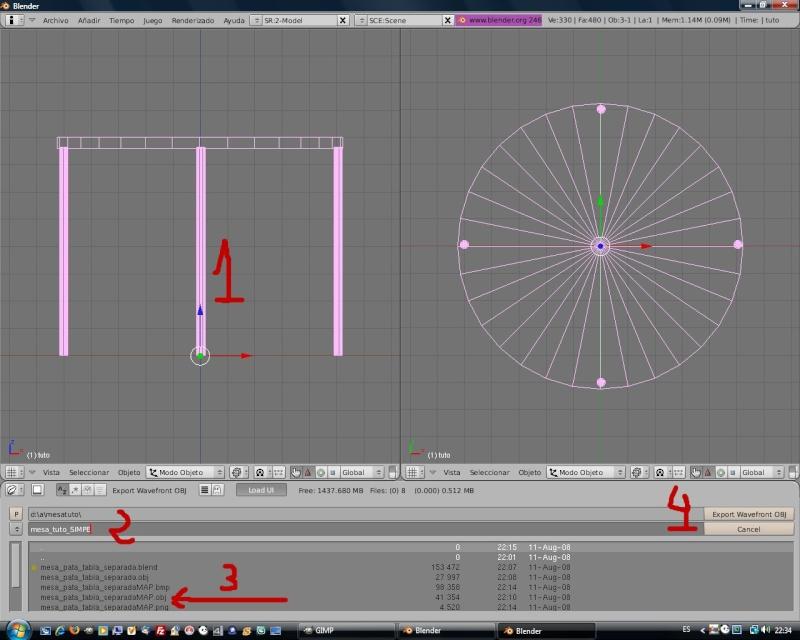 Mesh 2: Tutorial Blender Básico (Programa de 3D) 313