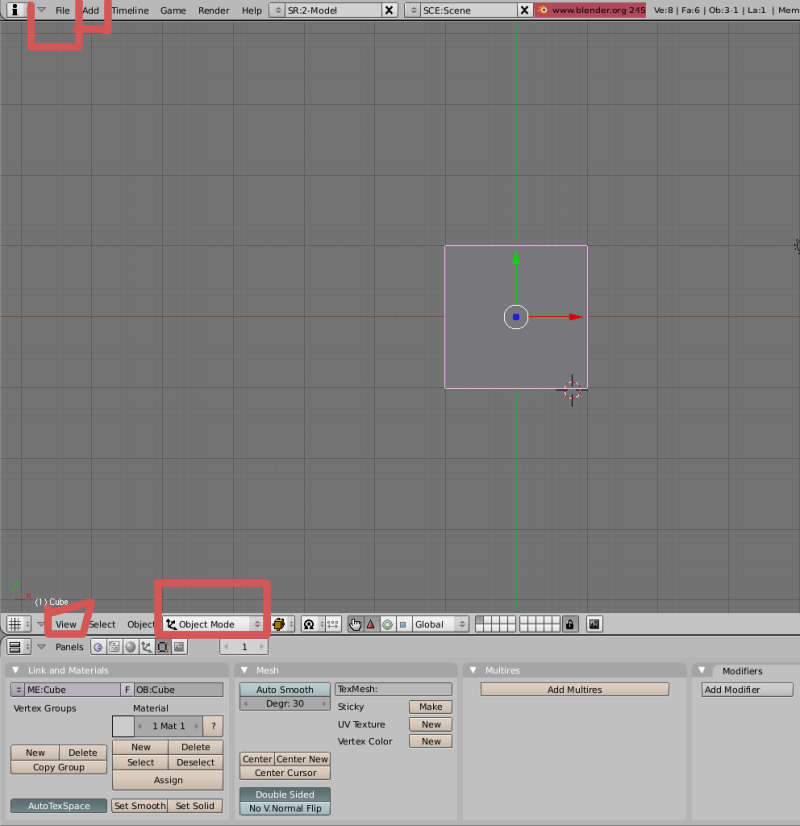 Mesh 2: Tutorial Blender Básico (Programa de 3D) Pantal10