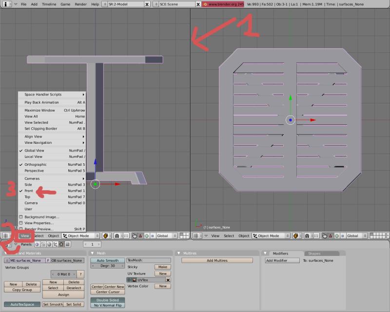 Mesh 2: Tutorial Blender Básico (Programa de 3D) Pantal12