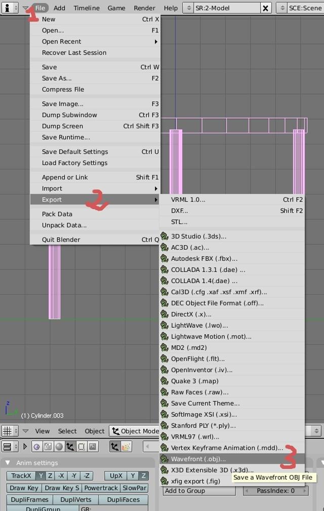Mesh 2: Tutorial Blender Básico (Programa de 3D) Pantal13