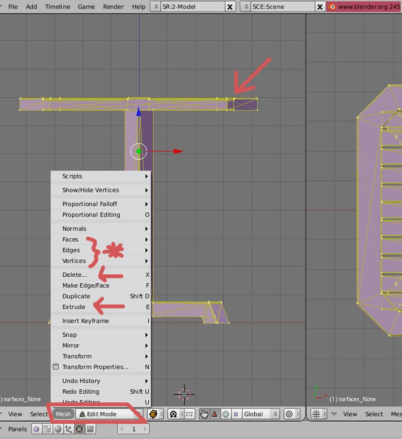 Mesh 2: Tutorial Blender Básico (Programa de 3D) Pantal14