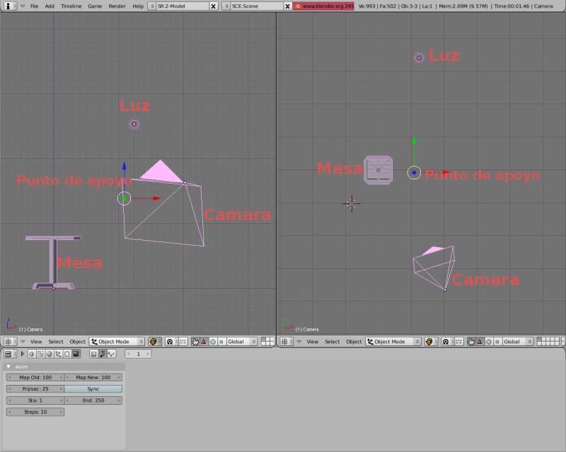 Mesh 2: Tutorial Blender Básico (Programa de 3D) Pantal16