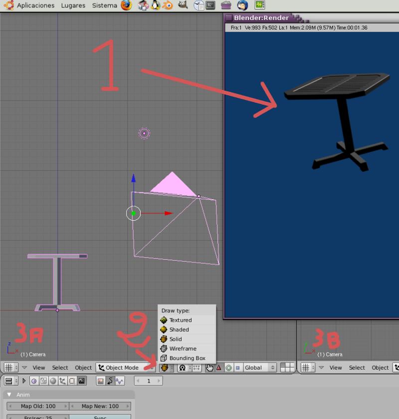 Mesh 2: Tutorial Blender Básico (Programa de 3D) Pantal18