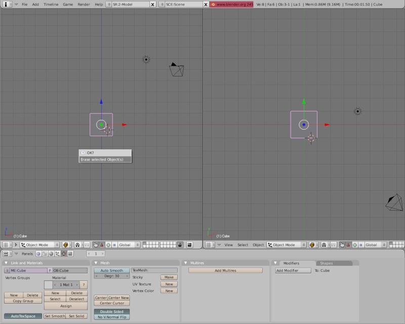 Mesh 2: Tutorial Blender Básico (Programa de 3D) Pantal21