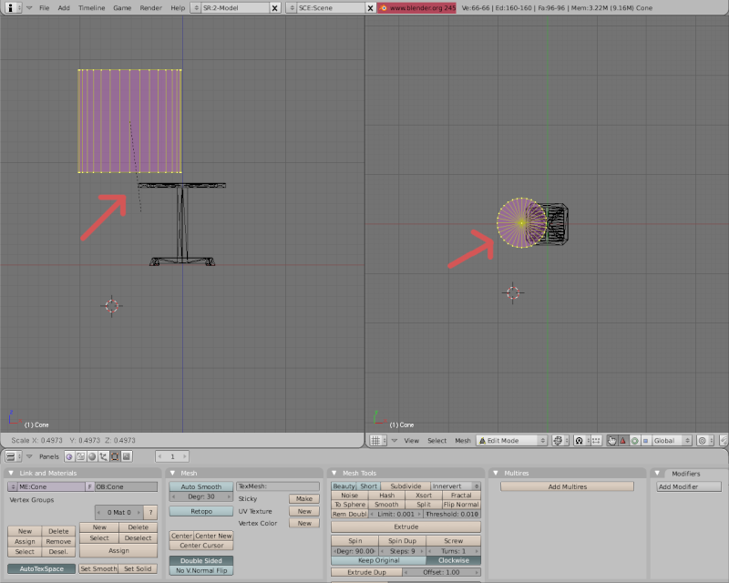 Mesh 2: Tutorial Blender Básico (Programa de 3D) Pantal31