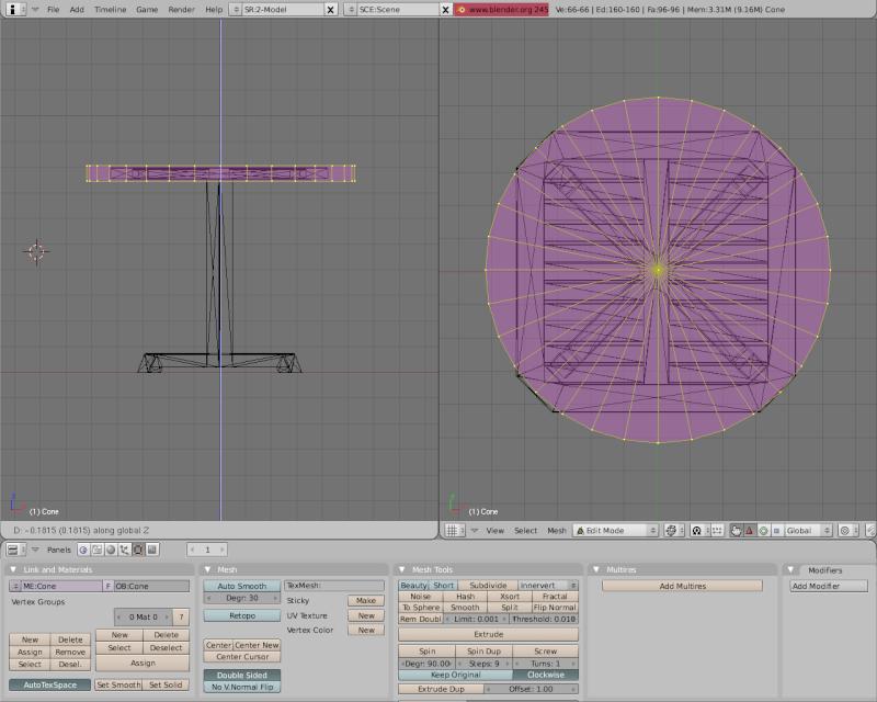Mesh 2: Tutorial Blender Básico (Programa de 3D) Pantal42