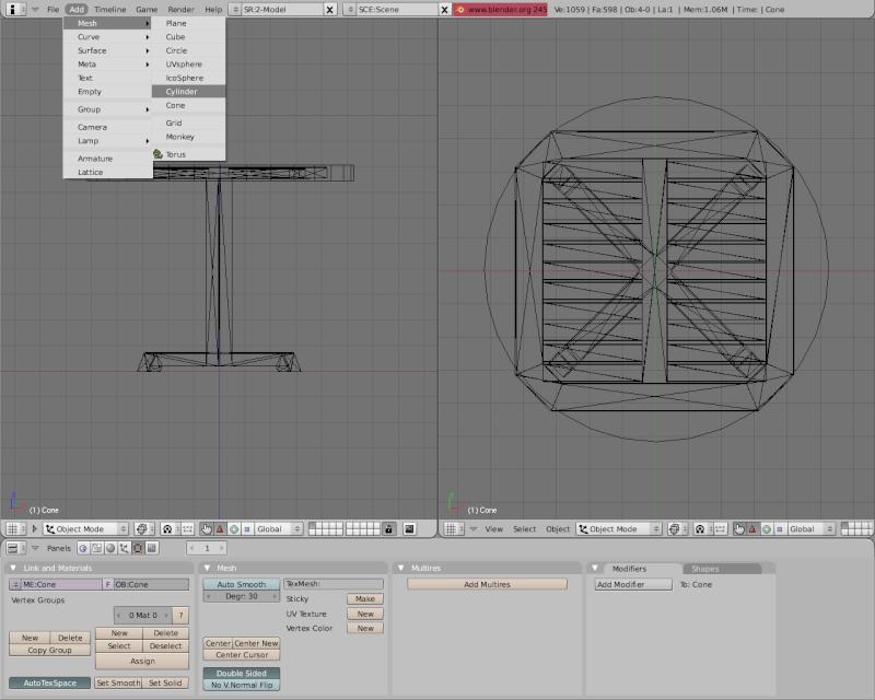 Mesh 2: Tutorial Blender Básico (Programa de 3D) Pantal45