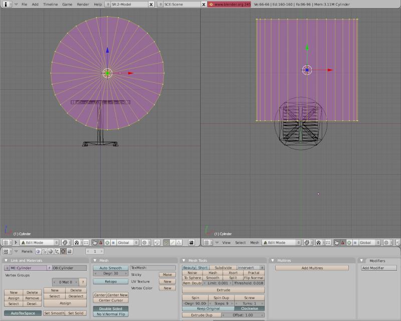 Mesh 2: Tutorial Blender Básico (Programa de 3D) Pantal46