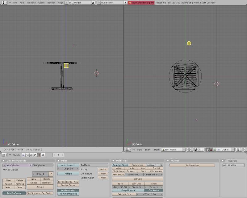 Mesh 2: Tutorial Blender Básico (Programa de 3D) Pantal50