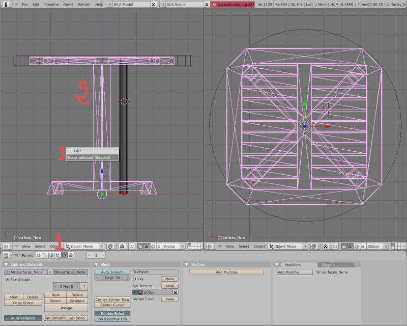 Mesh 2: Tutorial Blender Básico (Programa de 3D) Pantal58