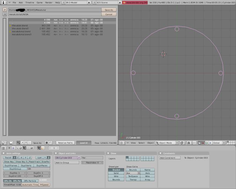 Mesh 2: Tutorial Blender Básico (Programa de 3D) Pantal63