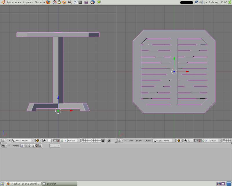 Mesh 2: Tutorial Blender Básico (Programa de 3D) Pantal65