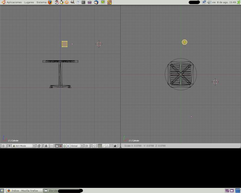 Mesh 2: Tutorial Blender Básico (Programa de 3D) Pantal67