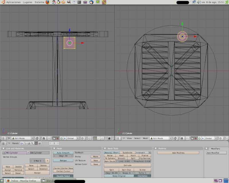 Mesh 2: Tutorial Blender Básico (Programa de 3D) Pantal68