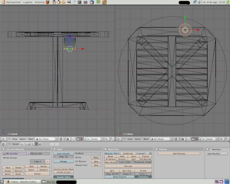 Mesh 2: Tutorial Blender Básico (Programa de 3D) Pantal69