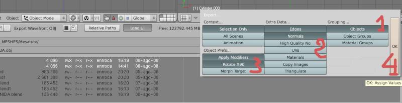 Mesh 2: Tutorial Blender Básico (Programa de 3D) Pantal74
