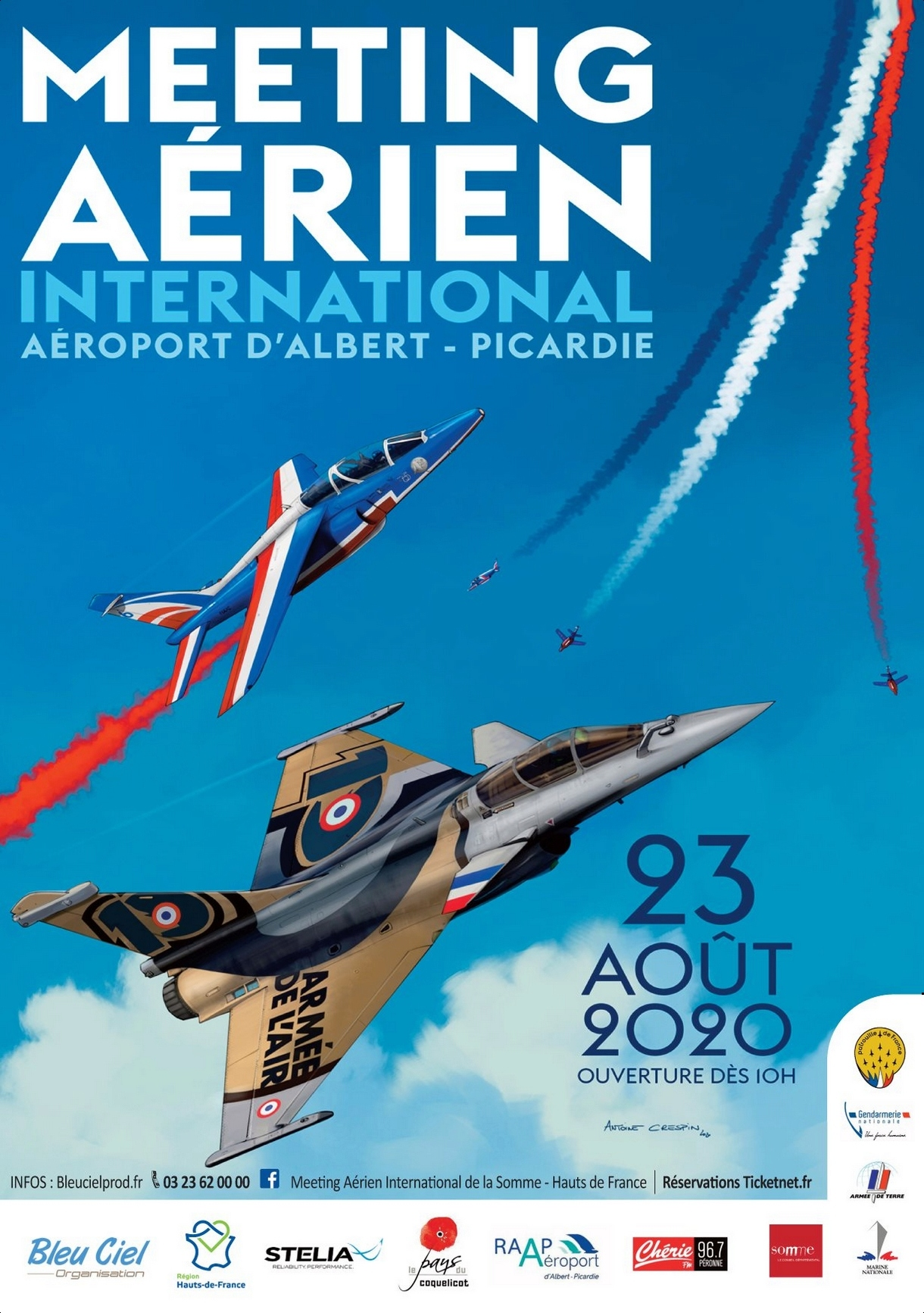 Dates des Meeting Aériens 2020   French Airshows TV Photography