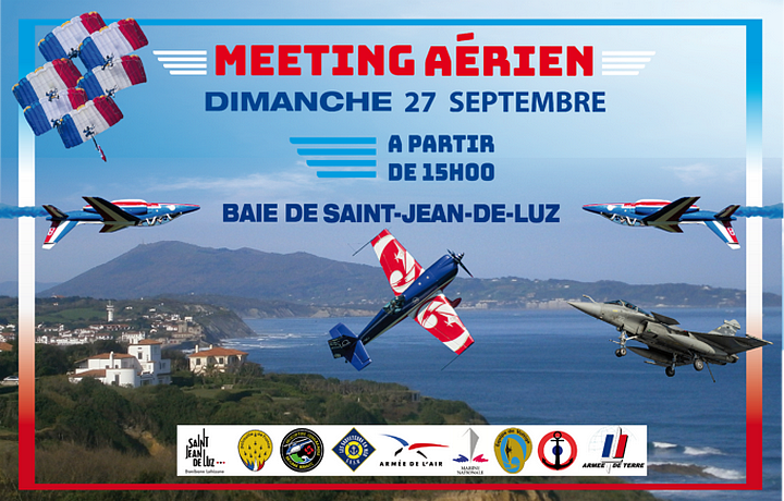 Meeting Aerien Saint-Jean-de-Luz Rafale solo display patrouille de france Meetin Aerien 2020