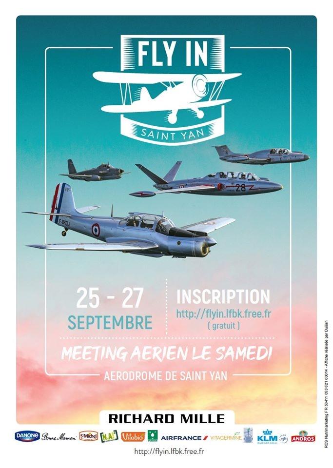 Fly in LFBK Saint-Yan flyin.lfbk Meetin Aerien 2020