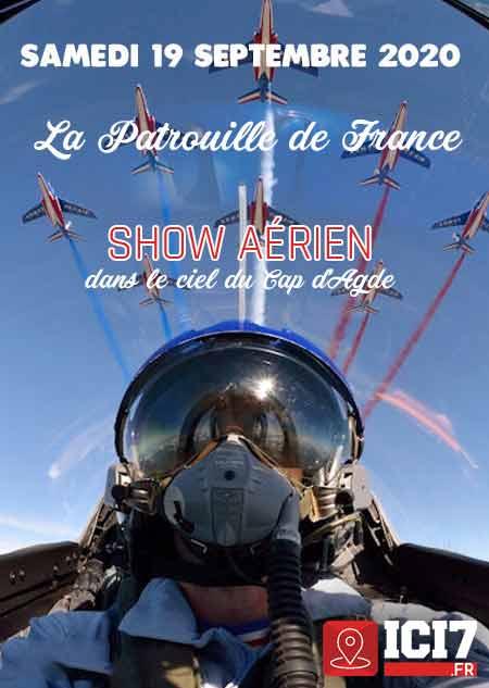 Meeting Aerien Cap d'Agde meeting aerien 2020 patrouille de france