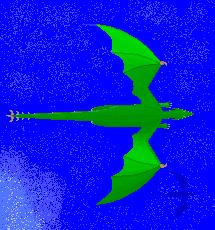 Dragão Pixel Art - inicio Dragao13