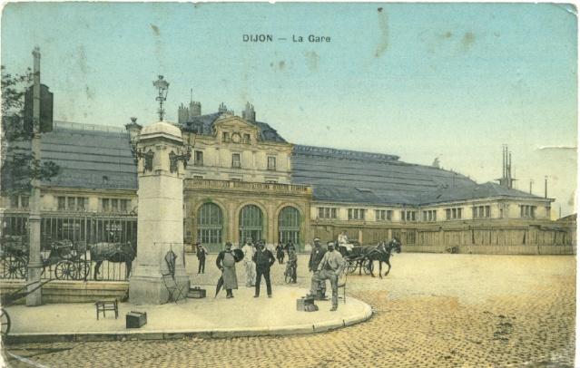 Dijon, la gare 1911 Dijon_10