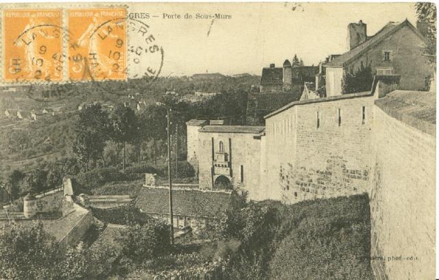 Langres, la porte de Sous-Murs Langre10