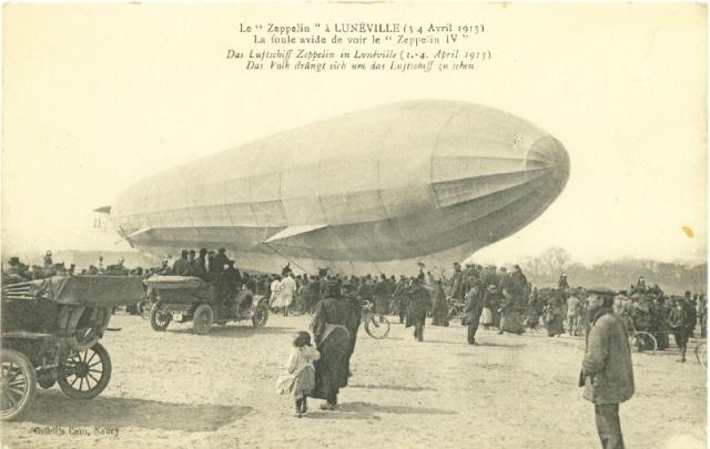 Lunéville, le Zeppelin de 1913 Lunevi11
