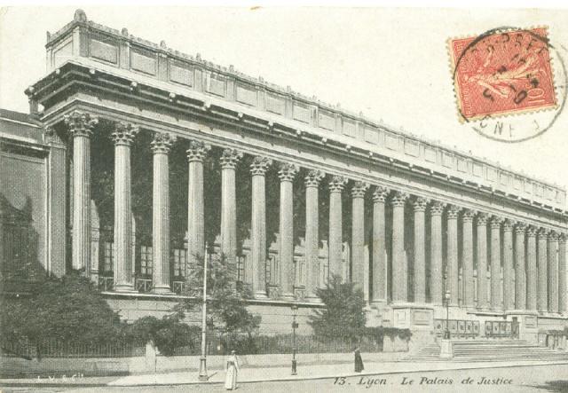 Lyon, Palais de Justice Lyon_p10