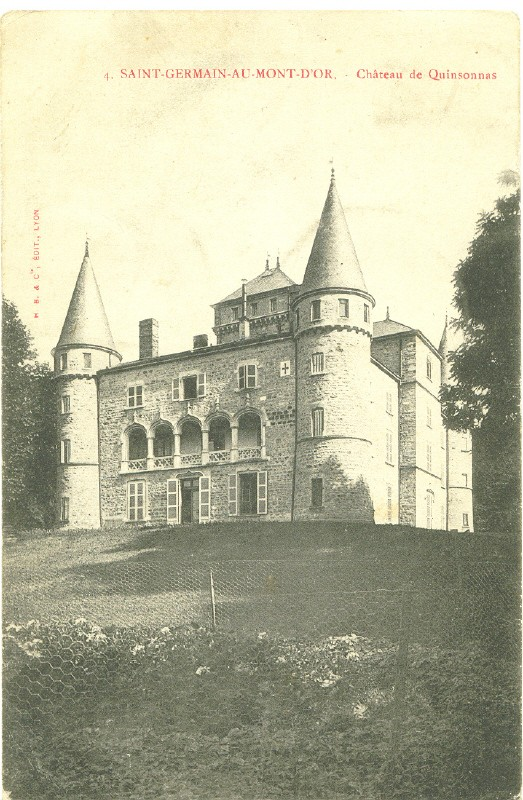 Saint Germain au Mont d'Or, château Quinsonnas 1904 St_ger10