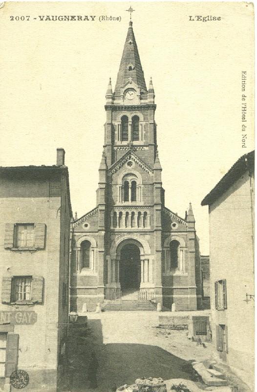 Vaugneray, l'église Vaugne10