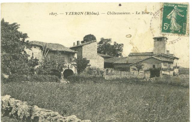 Yzeron, Chateauvieux Yzeron10