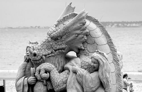 Sand sculptures - Page 2 Sandca10
