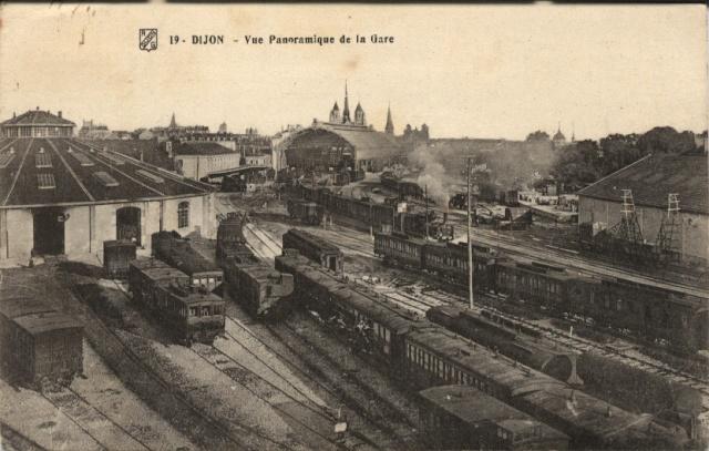 DIJON - Vue panoramique de la Gare Dijon011