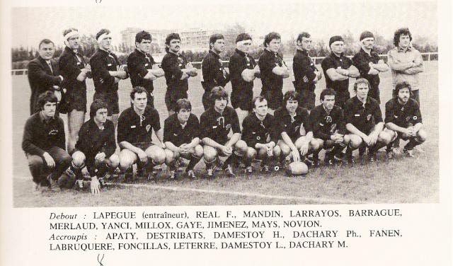 Saison 1977/78 Equipe13