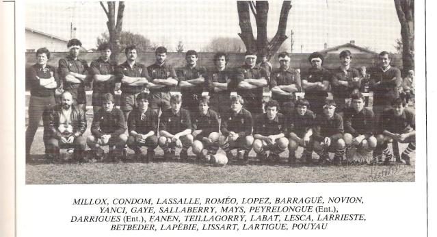 Saison 1983/84 Equipe14