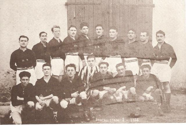 """1923.... le premier exploit devant la """"vierge Rouge"""" du Stade Toulousain. Equipe17"""