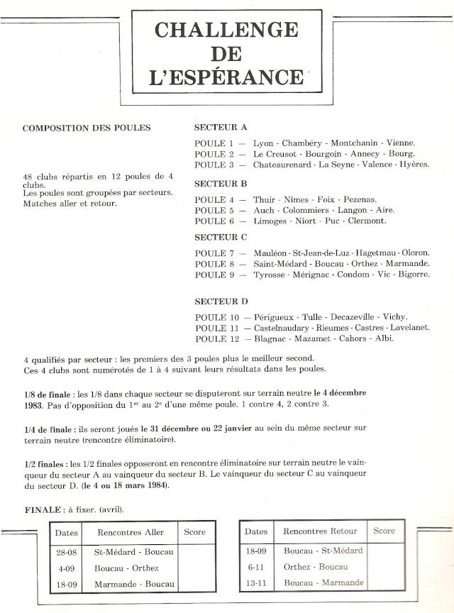 1984.... un 3ème Challenge de l'Espérance Espera11